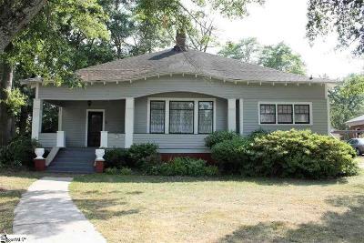 Fountain Inn Single Family Home For Sale: 405 N. Weston