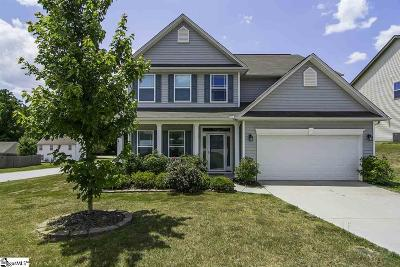 Simpsonville Single Family Home For Sale: 301 Gibby