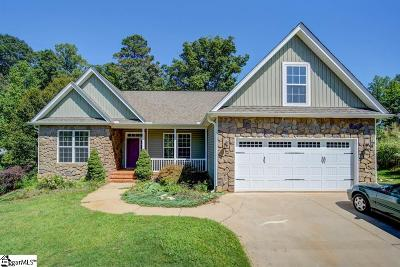 Boiling Springs Single Family Home For Sale: 546 Abberly