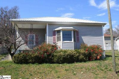 Greenville County Single Family Home For Sale: 21 D