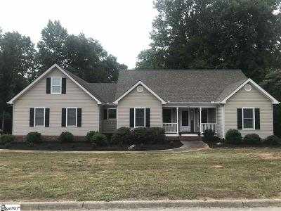 Simpsonville Single Family Home Contingency Contract: 516 Wemberly