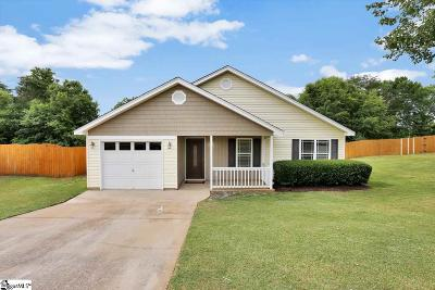 Greer Single Family Home Contingency Contract: 266 Milky