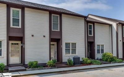 Greenville County Condo/Townhouse Contingency Contract: 3210 Bethel #Unit 57