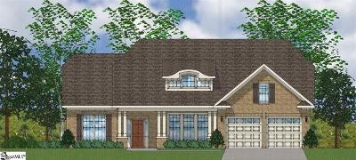 Easley Single Family Home For Sale: 208 Crestgate