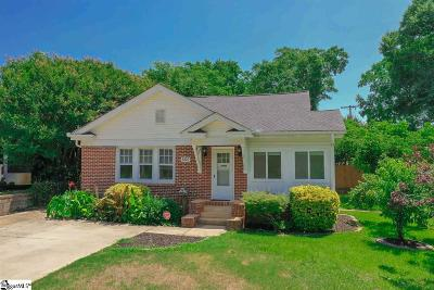 Greenville Single Family Home Contingency Contract: 600 N Franklin