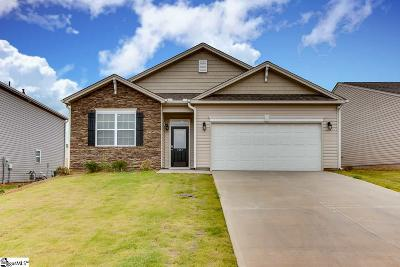 Piedmont Single Family Home For Sale: 707 Longhorn