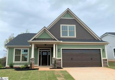 Single Family Home For Sale: 7 Buchanan Ridge #Lot 25