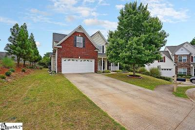 Spartanburg Single Family Home For Sale: 293 Wycliff