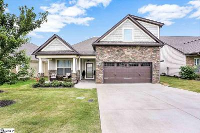 Easley Single Family Home For Sale: 302 Gallagher Trace #Lot 37