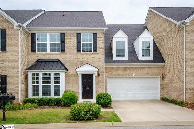 Simpsonville Condo/Townhouse For Sale: 303 Bickleigh