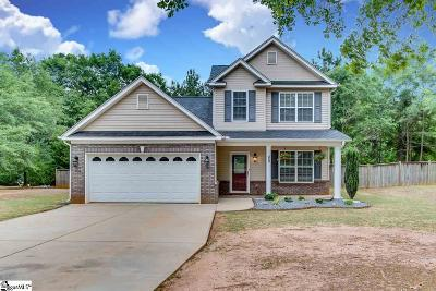 Duncan Single Family Home For Sale: 88 Holly Tree