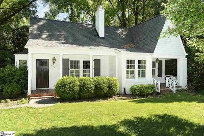 Greenville Single Family Home For Sale: 225 Camille