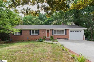 Greenville Single Family Home For Sale: 118 Sunderland