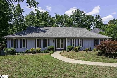 Simpsonville Single Family Home For Sale: 214 Honey Horn