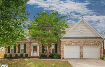 Greenville Single Family Home For Sale: 312 Surrywood