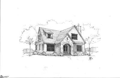 Greenville Single Family Home For Sale: Bennett #Lot B
