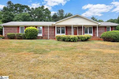 Greer Single Family Home For Sale: 100 Lakeforest