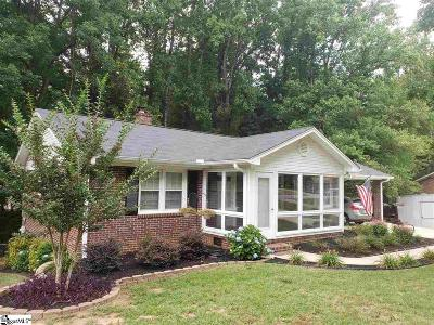 Greer Single Family Home For Sale: 109 Pinewood