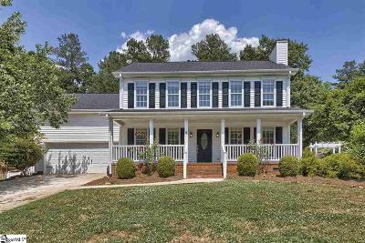 Greenville County Single Family Home For Sale: 300 Birkenstock