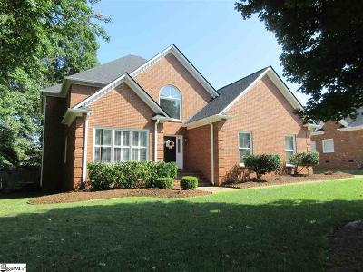 Greenville County Single Family Home For Sale: 216 Brushy Meadows