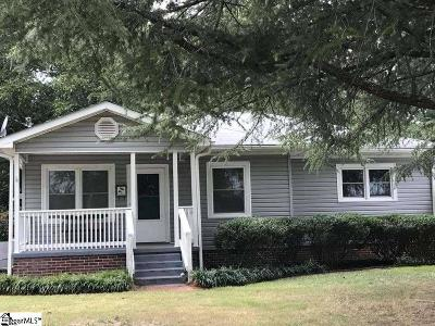 Clinton Single Family Home Contingency Contract: 805 N Adair