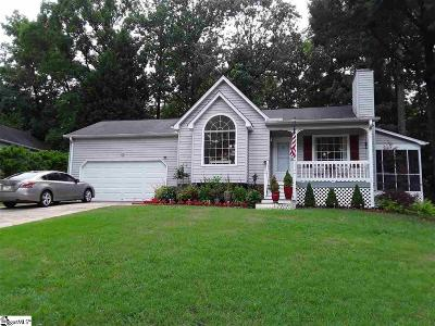 Simpsonville Single Family Home For Sale: 302 Dunwoody