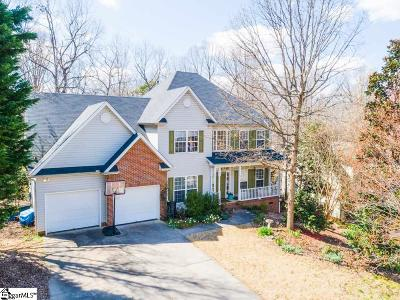 Simpsonville Single Family Home For Sale: 511 Worchester