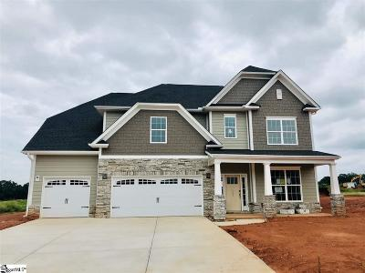 Simpsonville Single Family Home For Sale: 208 Lakeway #Homesite