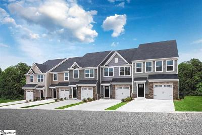 Greenville County Condo/Townhouse For Sale: 1302 B Country Dale