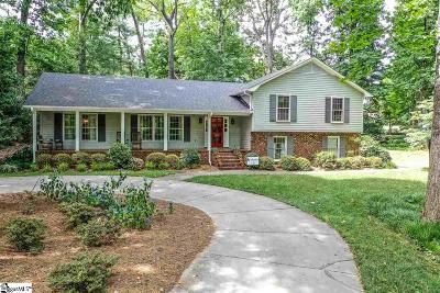 Greenville County Single Family Home Contingency Contract: 205 Hunting Hollow