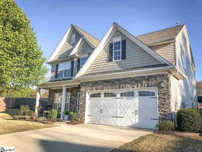 Greer Single Family Home Contingency Contract: 114 Circle Grove