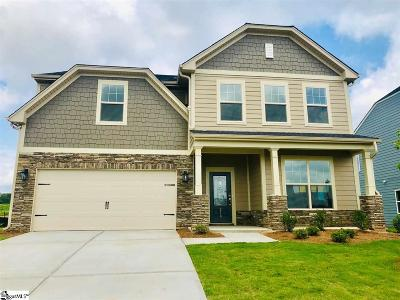 Greer Single Family Home For Sale: 218 Braselton #LOT 17