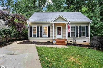Greenville Single Family Home For Sale: 7 Dearsley