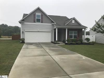 Simpsonville Single Family Home Contingency Contract: 30 Allamanda