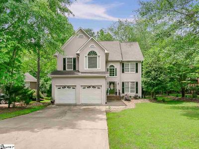 Spartanburg Single Family Home For Sale: 517 Bent Creek