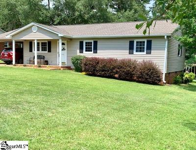 Boiling Springs Single Family Home Contingency Contract: 914 Old Wagon