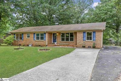 Greenville Single Family Home Contingency Contract: 101 S Oak Forest