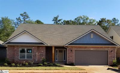 Greenville Single Family Home For Sale: 102 Starlight