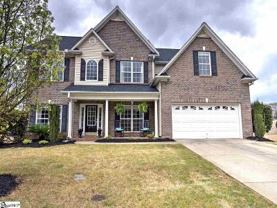 Simpsonville Single Family Home For Sale: 213 Brazos