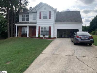 Greer Single Family Home For Sale: 117 Ashby Cross