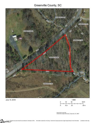 Fountain Inn Residential Lots & Land Contingency Contract: Peden