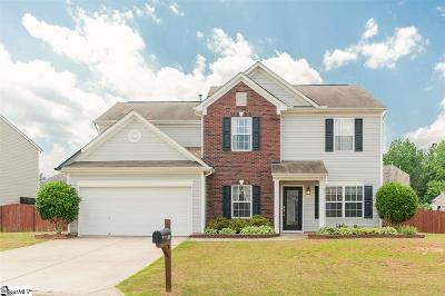 Simpsonville Single Family Home Contingency Contract: 209 Dylan Oaks