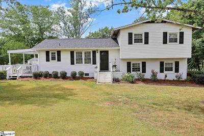 Greer Single Family Home For Sale: 103 Spruce