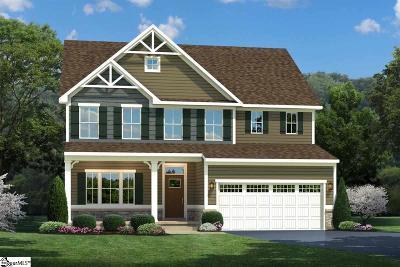 Duncan Single Family Home For Sale: 137 Saint Elmos
