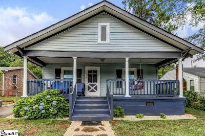 Greenville Single Family Home Contingency Contract: 110 Bailey