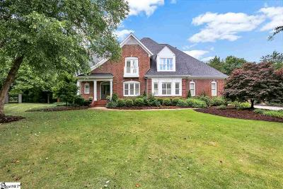 Greenville Single Family Home For Sale: 7 New Forest