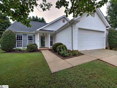 Greenville County Single Family Home Contingency Contract: 6 Valley Glen