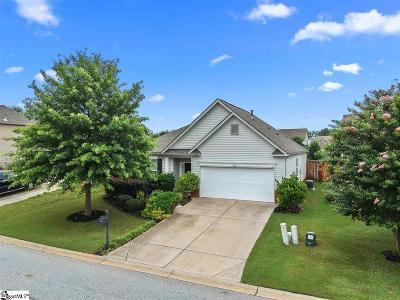Simpsonville Single Family Home For Sale: 301 Hunslet