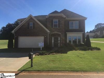 Inman Single Family Home For Sale: 304 Swift Water #Lot 66