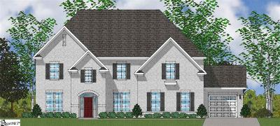 Simpsonville Single Family Home For Sale: 210 Gordanvale